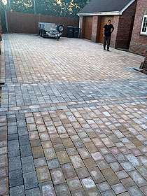 Block Paving Driveway Example